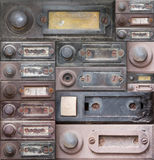 Doorbells Royalty Free Stock Photography