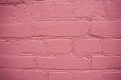 Doorboor bakstenen muur Textuur Stock Fotografie