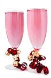 Doorboor champagne Stock Foto's