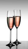 Doorboor champagne Royalty-vrije Stock Foto's
