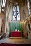 Doorborende kapel, Doorborende universiteit, West-Sussex, Engeland, groot Stock Foto