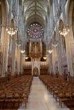 Doorborende kapel, Doorborende universiteit, West-Sussex, Engeland, groot Royalty-vrije Stock Fotografie