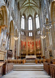 Doorborende kapel, Doorborende universiteit, West-Sussex, Engeland, groot Stock Afbeelding