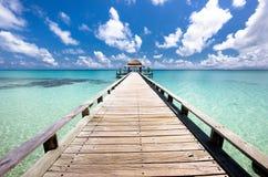 Doordring in de Indische Oceaan Royalty-vrije Stock Foto
