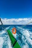 Doorgang van het schipoverzees Stock Fotografie