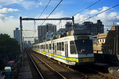 Doorgang van het Spoor van Manilla de Lichte Royalty-vrije Stock Afbeeldingen