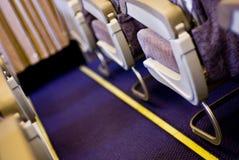 Doorgang in vliegtuig royalty-vrije stock afbeelding