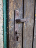 Doorhandle close view Stock Photography
