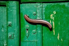Doorhandle Royalty Free Stock Photos