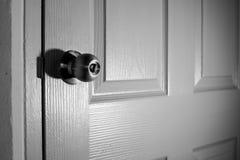 Doorknob ασήμι Στοκ εικόνα με δικαίωμα ελεύθερης χρήσης
