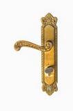 Doorknob на белой предпосылке Стоковая Фотография RF