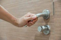 Doorknob - рукоятка рычага стоковое изображение
