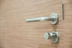 Doorknob - рукоятка рычага стоковые фотографии rf