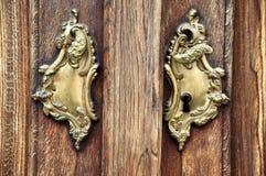 doorknob старый Стоковые Фото