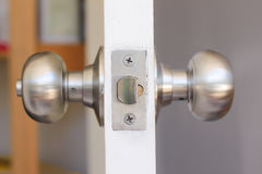 doorknob stock foto