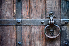 Doorknob antico Fotografia Stock