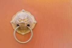 Doorknob on background Stock Images