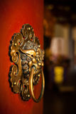 Doorknob of the Buddhist temple Stock Photography