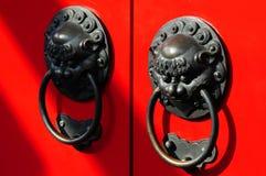 Doorknob chinês Fotos de Stock Royalty Free