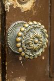 Doorknob. Close up detail view at doorknob Royalty Free Stock Photos