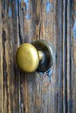 Doorknob. Close up view at doorknob Royalty Free Stock Photography