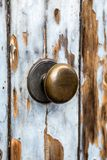 Doorknob. Close up view at doorknob Royalty Free Stock Photos