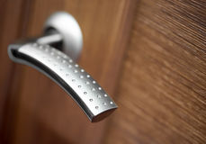 Doorknob closeup Royalty Free Stock Image