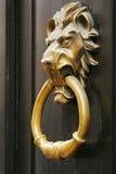 Doorknob - lion Stock Photo