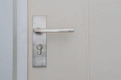 Doorknob. Modern style metal doorknob, no key Royalty Free Stock Photo