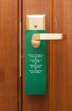 Doorknob On The Handle Royalty Free Stock Image