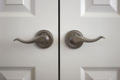 Doorknobs Stock Photography
