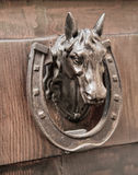 doorknocker επικεφαλής άλογο Στοκ φωτογραφία με δικαίωμα ελεύθερης χρήσης