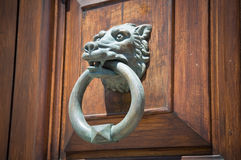 Doorknocker. Royalty Free Stock Photos