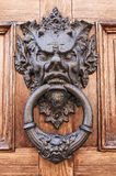 Doorknocker. Stockfoto