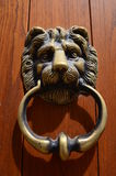 Doorknocker of Carennac stock photos