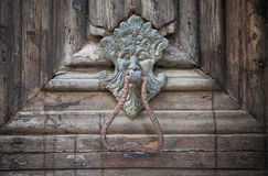 Doorknocker Cathedral Portal. Apulia. Royalty Free Stock Image