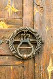 Doorknocker in Gracanica monastery Stock Photo