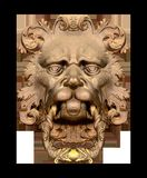 Doorknocker, Lion, Lion Head, Old Royalty Free Stock Image
