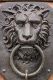 Doorknocker. A Doorknocker representing a Lion Royalty Free Stock Images