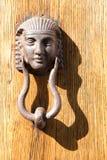 Doorknocker in Tuscany, Italy stock image
