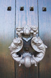 Doorknocker. Viggianello. Basilicata. Italy. Royalty Free Stock Photos