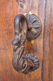 Doorknocker. Viggianello. Basilicata. Italy. Royalty Free Stock Images