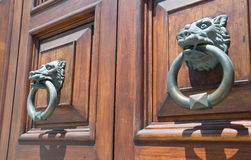 Doorknockers. Stock Images