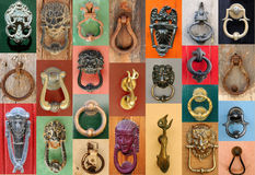 Doorknockers Royalty Free Stock Image