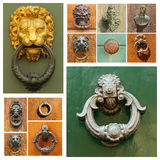 Doorknockers collection Royalty Free Stock Photo