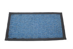 Doormat 02. Doormat - isolated on white background with clipping path Stock Image