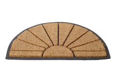 Doormat 06. Doormat isolated on white background - clipping path included Stock Photos