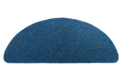 Doormat blu scuro Immagine Stock Libera da Diritti
