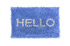 Doormat Stock Image