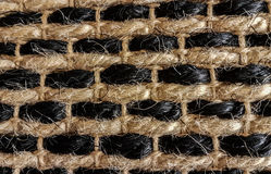 Doormat carpet mat texture background Stock Image